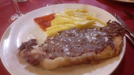 Vera de Moncayo, Hiszpania: entrecot de ternera