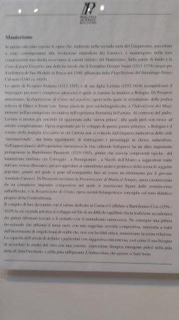 Pinacoteca Nazionale di Bologna : manierismo