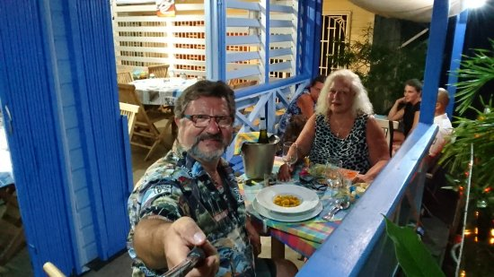 Les Freres de la Cote: Una cena romántica