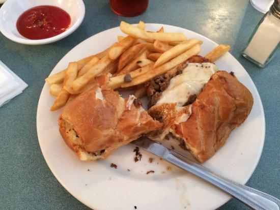 Albertville, AL: My Philly Cheese/Steak sandwich