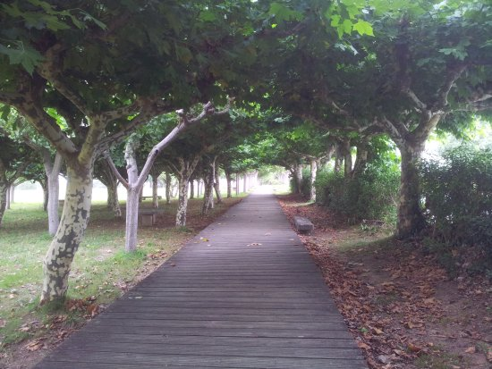 Mino, Hiszpania: Paseo da Praia Grande de Miño