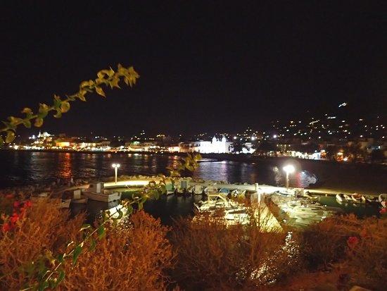 Pandrossos Hotel : Night view of the seashore