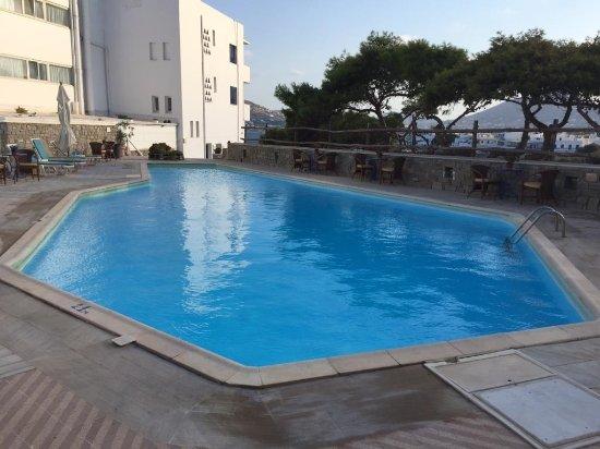 Pandrossos Hotel : Hotel pool