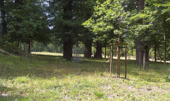 Disc golf park Chateau Hostacov