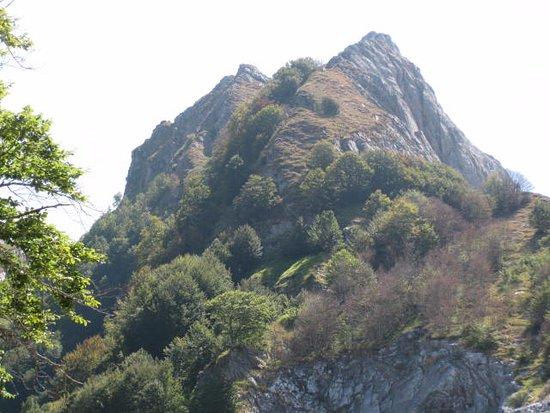 Minucciano, Италия: Le Apuane dal Rifugio Orto di Donna