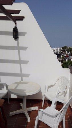 Rosamar Apartments: La terraza