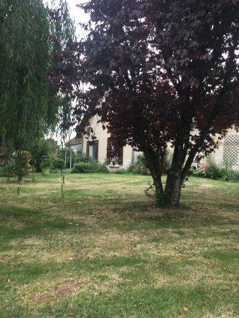 Indre, Frankreich: giardino