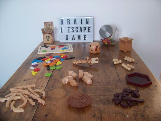 ‪BRAIN, l'Escape Game‬