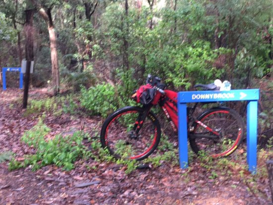 After a long day's ride from Collie, the Donnybrook Motel was a welcome place to rest for the ni