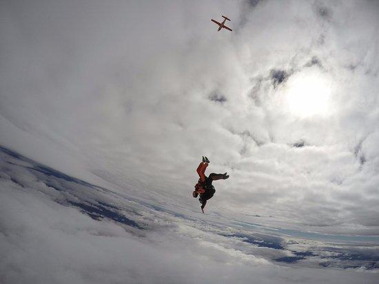 Skydive Wanaka: Which way is up?