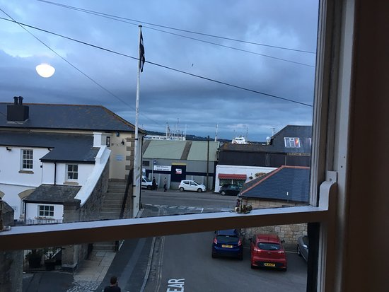 The Dock Inn: View from room 1