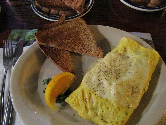 Hernando, FL: Ham & cheese omelet