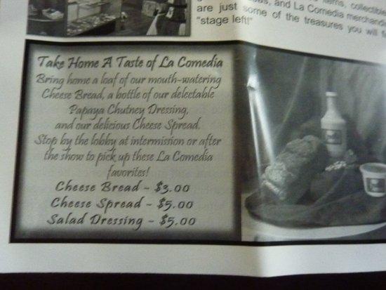 Springboro, OH: La Comedia Dinner Theatre