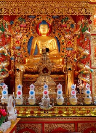 Eskdalemuir, UK: inside the temple