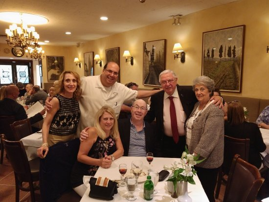 Our Wonderful New Friends The Scognamillo Family Of Patsy S Italian Restaurant York City