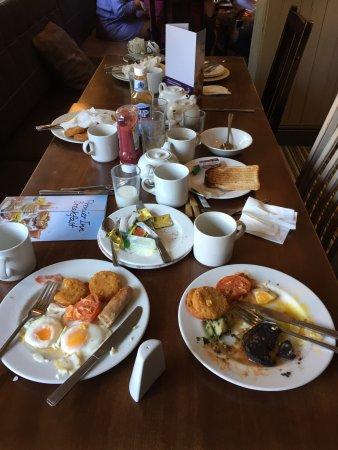 Wateringbury, UK: Uneaten breakfasts!
