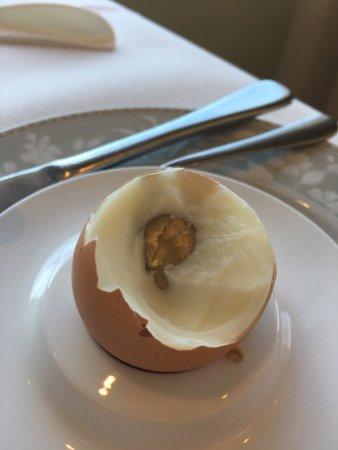 Hotel Corallo: Frühstücksei