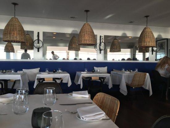 Restaurant Kitchen Organization bay kitchen bar - picture of bay kitchen bar, east hampton