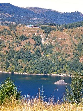 Amboy, WA: View of Coldwater Lake from Coldwater Ridge Trail