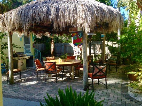 it s five o clock somewhere tiki hut picture of island paradise rh tripadvisor ca island paradise cottages madeira beach fl island paradise cottages madeira beach florida