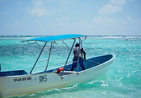 Bayahibe, République dominicaine : Pêhceur... Isla Saona.