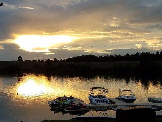 Island Park, ID: Sunset.....
