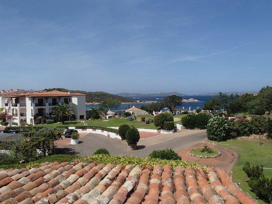 Hotel La Bisaccia: Blick aus unserem Zimmer auf die Gesamtanlage