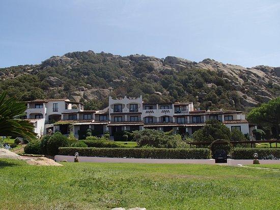 Hotel La Bisaccia: Das Nebengebäude wo sich unser Zimmer befand