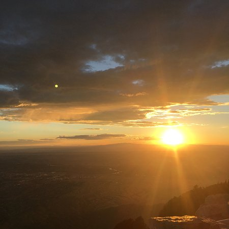 Sandia Park, NM: Sunset