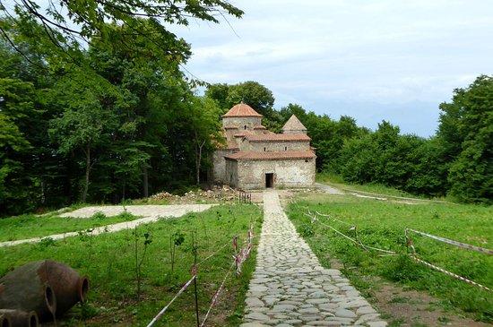 Shuamta Monasteries: Dzweli Shuamta 1
