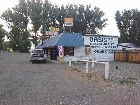 Juntura, OR : The Oasis Restaurant, Motel and RV Park