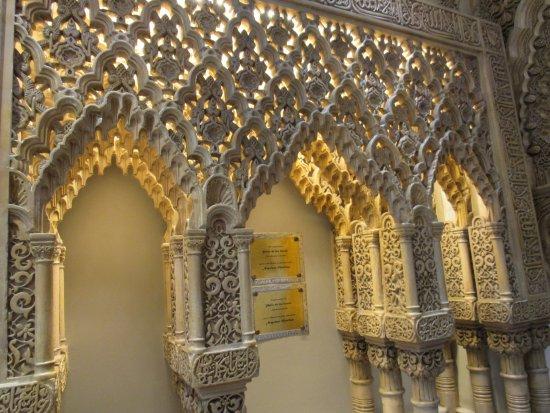 Tablao Flamenco Cordobes : Moorish architecture transports you to Cordoba.