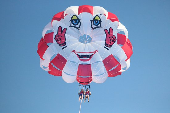 Цавтат, Хорватия: Double parasailing flight