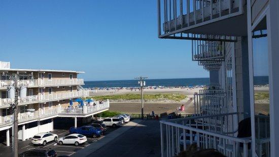 El Coronado Resort : south from our balcony