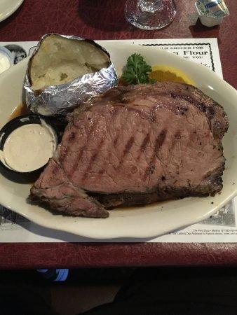 Albion, Estado de Nueva York: Prime Rib Dinner