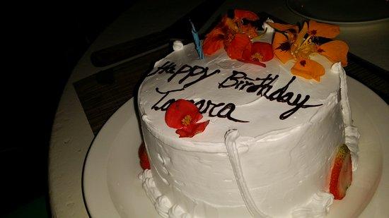 Hotel Punta Islita, Autograph Collection: Surprise Birthday Cake