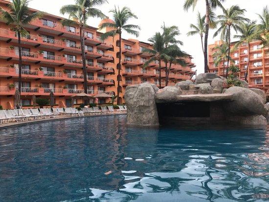 Villa del Palmar Beach Resort & Spa: View from the pool
