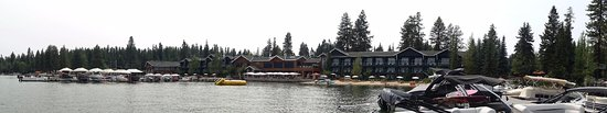 Shore Lodge: A view from the dock