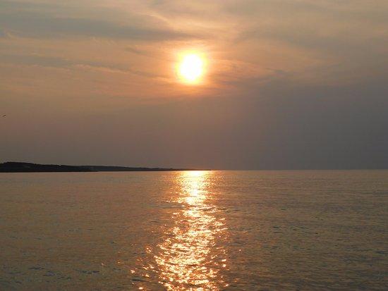 York, كندا: Beautiful sunset