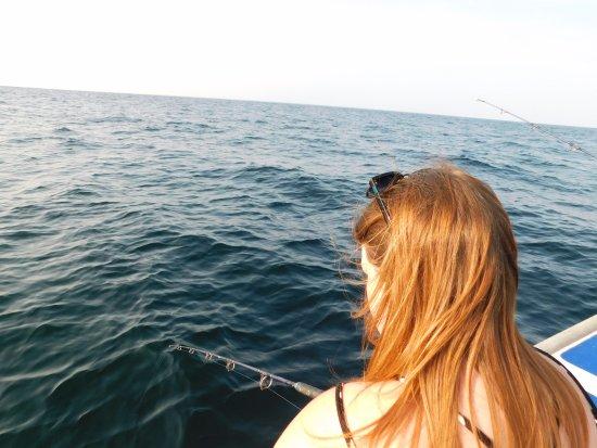 York, كندا: Deep Sea fishing. So much fun!