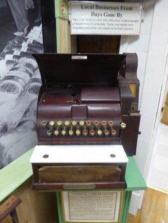 Edinburg, VA: Exhibit - Cash Register