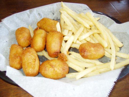 Halfway, OR: Mini Corn Dogs & Fries
