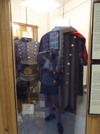 Edinburg, VA: Exhibit - VMI uniforms