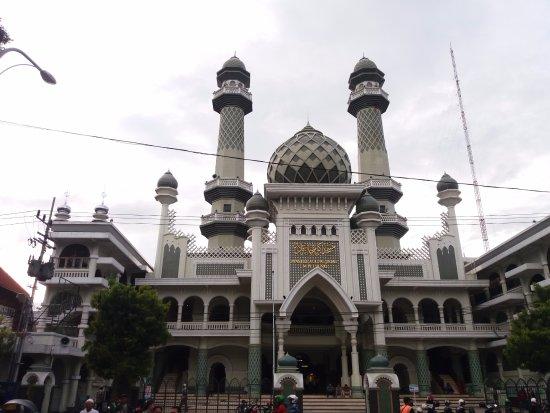 Tampak Depan Masjid Picture Of Jami Great Mosque Malang Tripadvisor