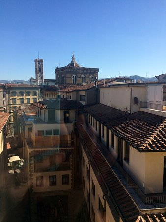 Hotel Della Signoria: View from the room