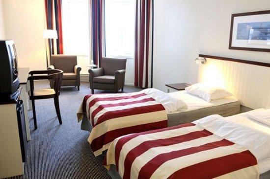 Langesund, Norvegia: Guest room