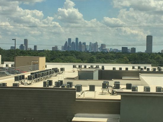 The St. Regis Houston: View from room to downtown