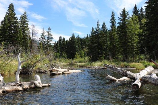 Gold Bridge, Canadá: Nähere Umgebung, mit dem Kanu erreichbar