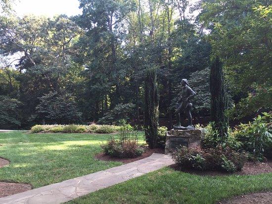 Tanger Family Bicentennial Garden: The student sculpture in Tanger Garden
