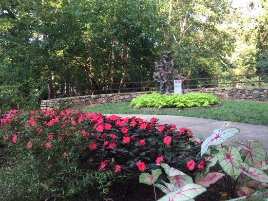 Tanger Family Bicentennial Garden: Wings sculpture